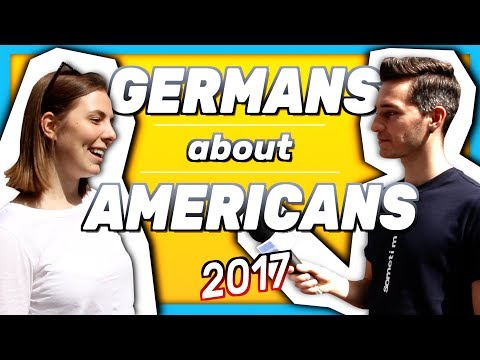 What do GERMANS think about AMERICANS 2017?