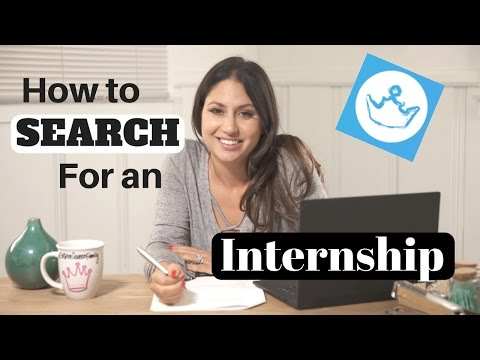 How to Search for an Internship | The Intern Queen
