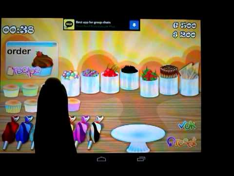 CupCake Rush - Cooking Game Available on Android Google Play