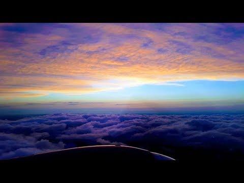 Flying until Sunrise | Pilot Night Shift Landing | Pizza for Breakfast |Family Vlog