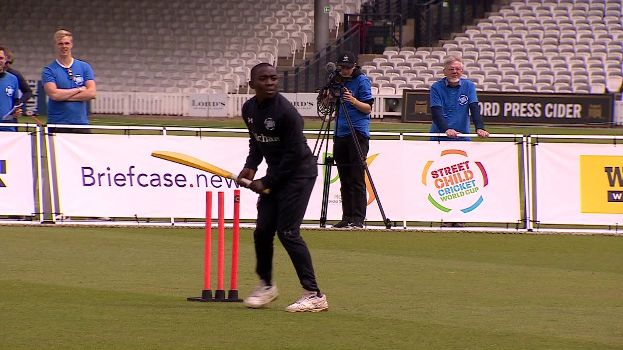 Africa's star players at the Street Child Cricket World Cup - BBC What's New?