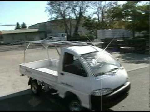 08ef3960c71ef5 ZAP Solar Electric Truck   Photovoltaic Array - YouTube