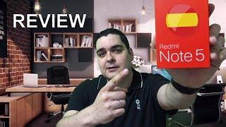 Xiaomi Redmi Note 5 versión global | Mejor Smartphone calidad precio 2018 | Review en español
