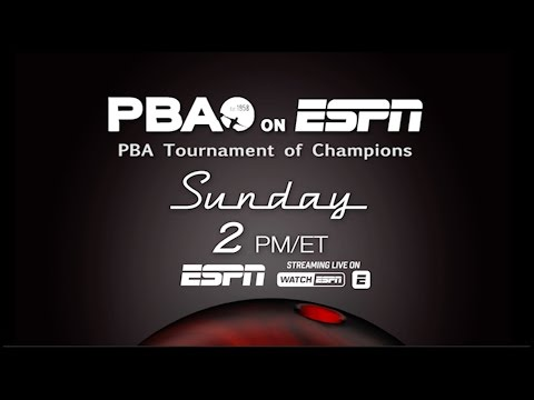 2016 PBA on ESPN Promo - Tournament of Champions