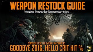 The Division Weapon Vendors Map   Pwner