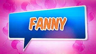 Joyeux anniversaire Fanny