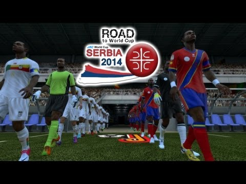 Benin Vs. Congo DR | Road To World Cup Serbia 2014 | FIFA 13