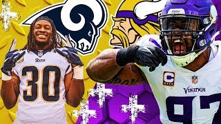 Condensed Game: LAR Rams @ MIN Vikings 🁢 Week 11 🁢 No Music Just Highlights