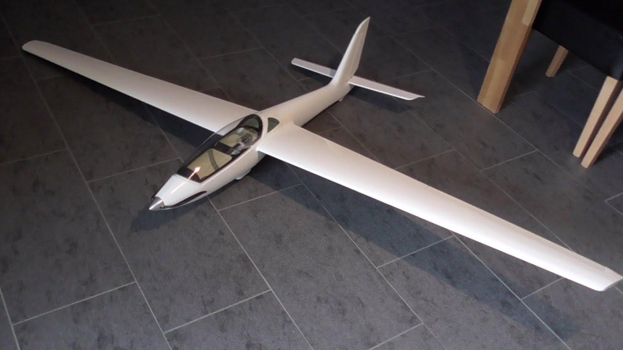 Royal Model MDM 1 FOX RC Glider Build Part 2