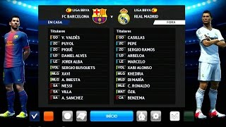 PES 2013 - BARCELONA vs REAL MADRID no SANTIAGO BERNABÉU (Gameplay PS3/X360/PC)