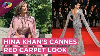Hina Khan's Cannes Red Carpet Look Is Stunning And Elegant | Find Out