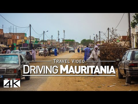 【4K】28 MINUTES | Driving Mauritania (West Africa) | 2020 | N