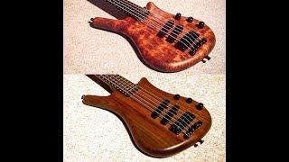 Warwick Thumb NT vs Thumb BO Bass Guitar Comparison