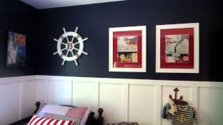Cruise ship themed nursery