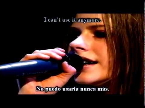 Avril Lavigne Knocking On Heavens Door Con Letra Y Subtitulada Live Hq Youtube