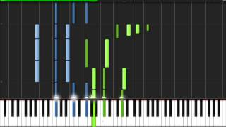 The Final Countdown - Europe [Piano Tutorial] (Synthesia) // Mark Fowler