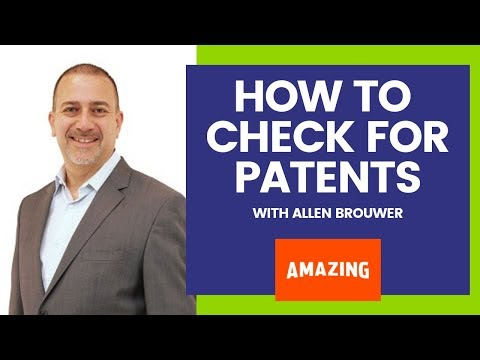 The BEST Way To Check If An Amazon Product Is Patent Protected