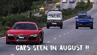 Supercars in India August 2017 | Bangalore & Delhi | #165