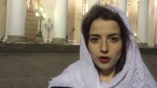 Русская девушка красиво ответила террористам ИГИЛ
