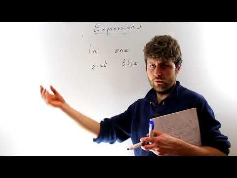 10 Common English Expressions - Irish Teacher