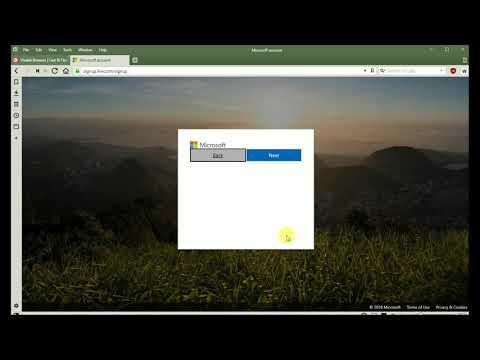 マイクロソフト 無料メールアカウント作成方法