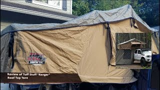 Tuff Stuff Ranger Roof Top Tent Review