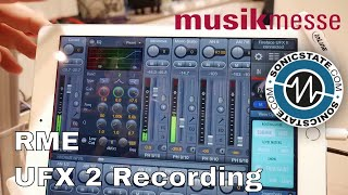 MESSE 2018 RME UFX 2 Mobile Mixing and Recording