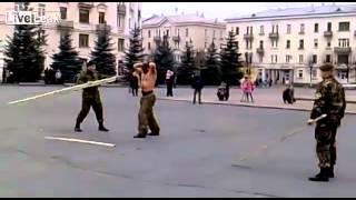 러시아 특수부대 시범 굴욕