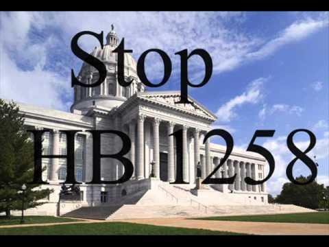 Missouri Senate hearing on HB1258 April 24, 2012