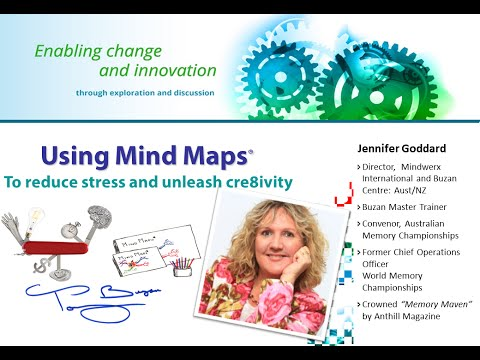 Using mind maps to reduce stress and unleash creativity