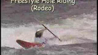 Shane O produces the OCOEE WHITEWATER RODEO 2000 (pro Kayak comp) 10 min. version