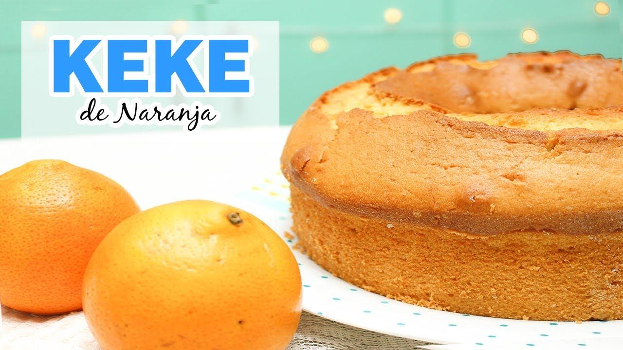 como se prepara el keke de naranja
