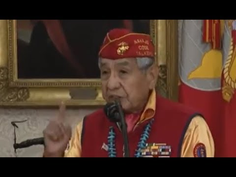 You will NOT BELIEVE what the Navajo Code Talkers just said about President Donald Trump