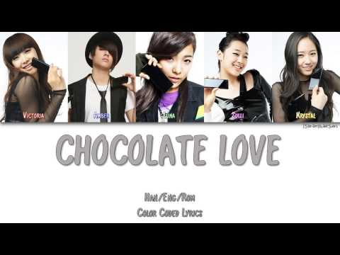 FX  CHOCOLATE LOVE ELECTRO POP VER Color Coded HanRomEng