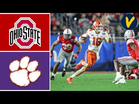 #3 Clemson Vs #2 Ohio State Highlights 2019 College Football Playoff Highlights