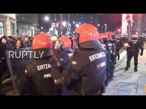 Spain: Bilbao's anti-fascist fans prepare for Spartak Moscow ultras