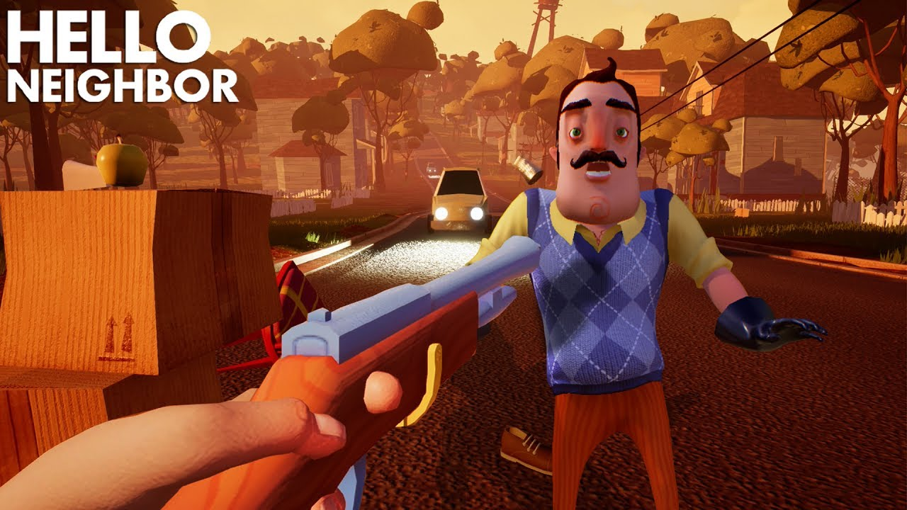 Trying To KILL THE NEIGHBOR!!! | Hello Neighbor (Alpha 4 ...