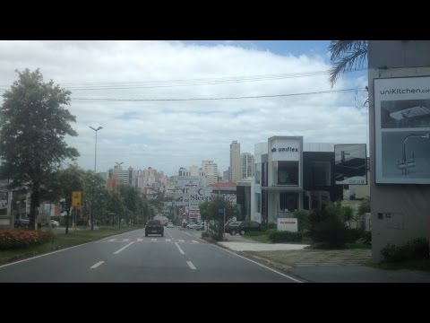 Driving around in Sorocaba, Brazil