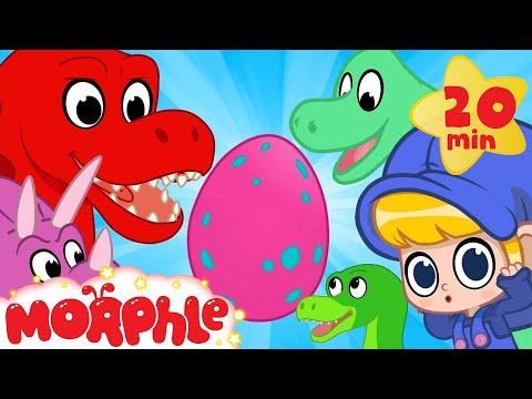 Mystery Dinosaur Egg! Mila and Morphle find the egg's dinosaur mother! Morphle episodes for kids!