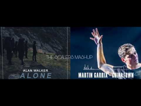 Alan walker Alone instrumental &  Martin Garrix Chinatown (The Scalers mix)