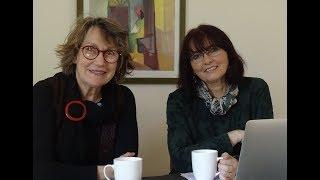 Margaret Zaleski Zamenhof demandas Katalin Kovats pri la KER ekzamenoj 2