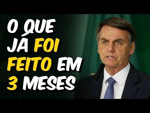 18 MUDANÇAS Que Bolsonaro Já Fez EM APENAS 3 MESES De Governo