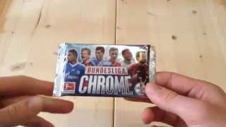 Bundesliga Chrome 2013/2014 - 1 Booster [ Opening / Unboxing ] 13/14