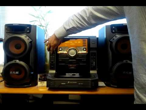 eBay item no  141906430885  Sony LBT ZX6 Hi Fi Music Sound System 5 CD Changer