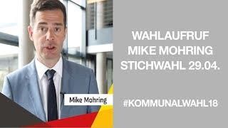 Wahlaufruf von Mike Mohring zur Stichwahl