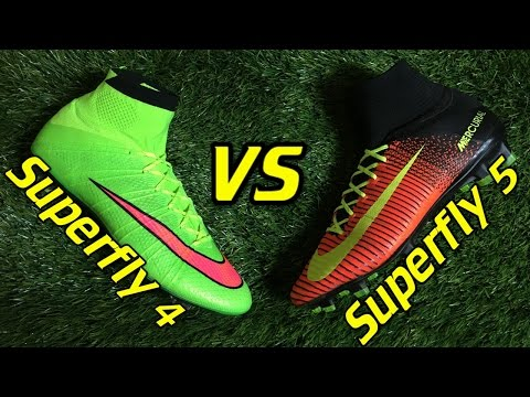 Nike Mercurial Superfly 4 Vs Superfly 5 - Comparison + Review