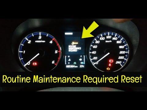 Mitsubishi Outlander Service Warning Reset 2016 - Present - How To DIY