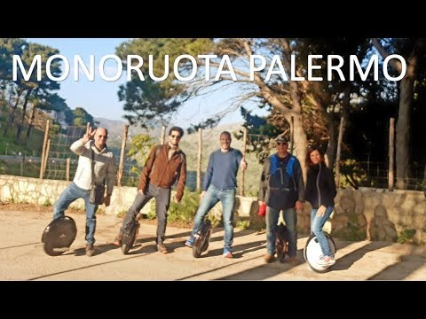 Monoruota elettrico - Pizzo Manolfo 2018 Palermo