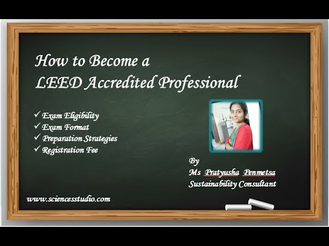 How to Become a LEED AP