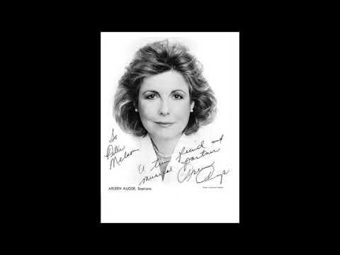 """Ravel """" Shéhérazade """" - Arleen Auger / Ernest Bour"""